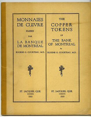 Courteau: The Copper Tokens of the Bank of Montreal,