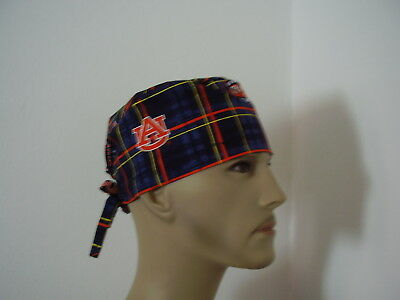 Surgical Scrub Hat/ Cap-Auburn University Tigers- One size- Men Women