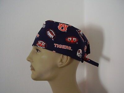 Surgical Scrub Hat/ Cap - Auburn University Tigers - One size- Men Women