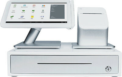 Clover Station POS Touch Screen Point Of Sale System Tablet Stand And Printer