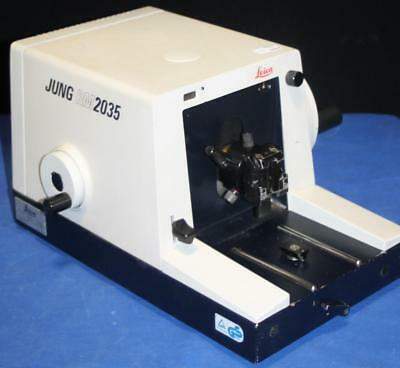 Leica Jung RM2035 Microtome Germany Microscope Slide RM 2035 ~Free Shipping!~