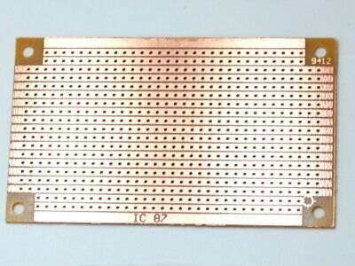 Stripboard 94 x 53mm Copper/Protoboard/Great Quality - USPS First Class Shipping