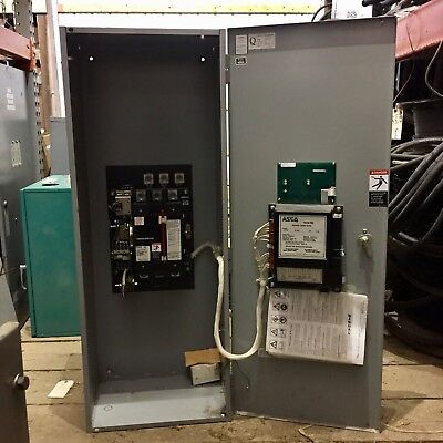 Asco Automatic Transfer Switch 225 Amps, 208 Volts, 60Hz, 3 Phase