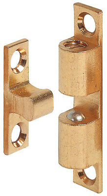 SOLID BRASS DOUBLE BALL CATCH Door Cupboard Roller Latch 43mm 49mm 60mm 70mm
