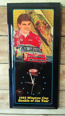 Jeff Gordon Rookie Of The Year 1993 Winston Cup Jabco Wall Clock 0,464-5,000