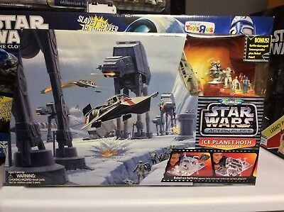 1995 Star Wars Action Fleet Ice Planet Hoth Playset by Galoob