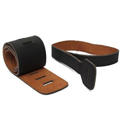Handicraft For Electric Acoustic Guitar Bass PU Leather Thick Strap Belt