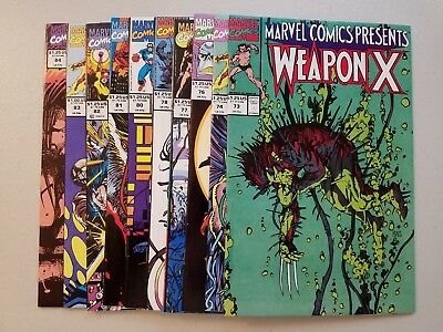 Marvel Comics Presents #73-84 (Avg 9.4) 1991 Weapon X Logan Wolverine KEY