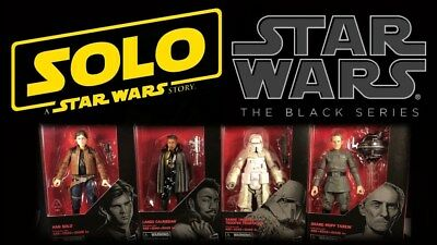 SW Black Series Solo A Star Wars Story Wave 16  (Pre-Order) Ships NLT March 27th
