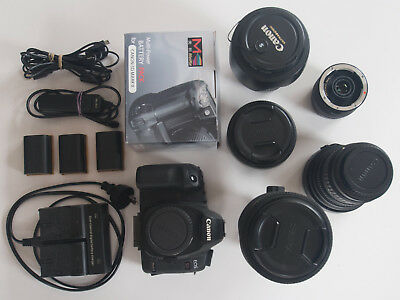 Canon 5D MarkII camera , lenses and accessories - in excellent working order