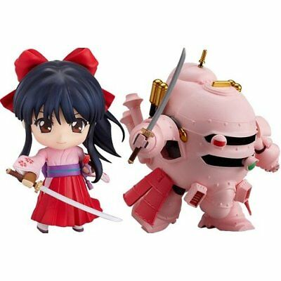 Good Smile Sakura Wars Nendoroid Figure Sakura Shinguji & Koubu Set Japan new .