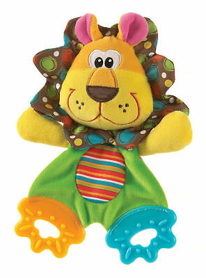 Playgro Roary the Lion Teething Blankie Fun Baby Teether Toys Colourful BNWT