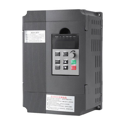 AC220V/380V Single Phase/3-Phase Variable Frequency Drive Inverter CNC Motor VFD