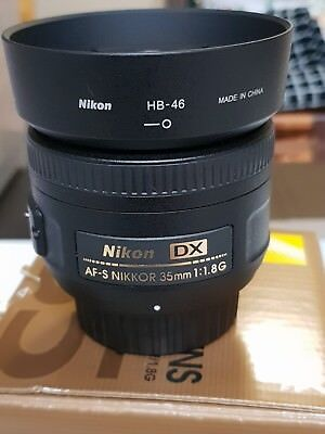 Nikon AF-S DX NIKKOR 35mm f1.8G 35 mm F/1.8 G - as New Condition