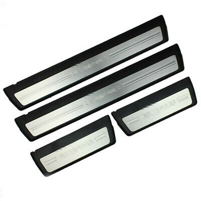 For Honda Civic Sedan 06-15 Steel Door Sill Scuff Plate Guard Door Entry Pad