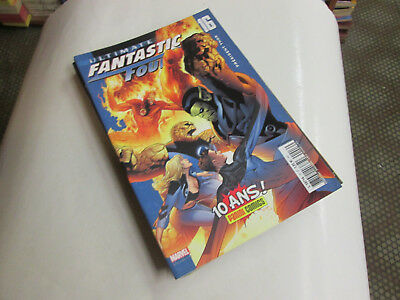Fantastic Four Ultimate.. 16...comics Marvel Panini .2007 . Tbe