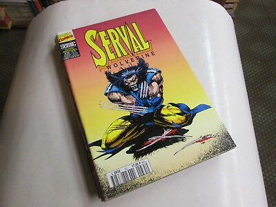 Marvel  Serval  35. Version Integrale ...comics Marvel Semic...tbe .