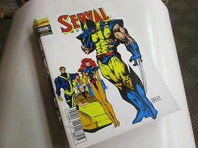 Marvel  Serval  29. Version Integrale ...comics Marvel Semic...tbe .