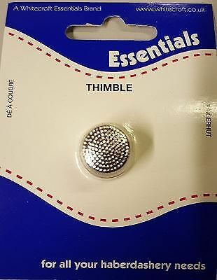 HB050 Steel Sewing Thimble - For fascinators, hats & craft use