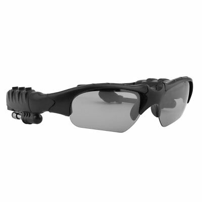 Portable Bluetooth 4.0 Sunglasses Hands-free Phone Call Black Frame For iPhone