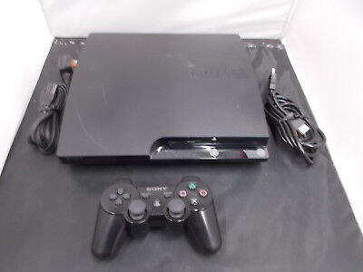 PS3 Playstation 3 Black Slim Pal COMPUTER CONSOLE (25) 27454020-14699821