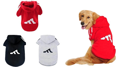 S-XXL Pet Dog Puppy Hoodie Sweater Coat for Dogs Warm Clothes Clothing APPAREL