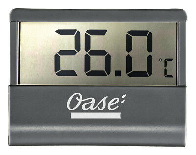 OASE 43957 DIGITAL AQUARIUM THERMOMETER. LCD Display, Fish Tank, Tropical Marine
