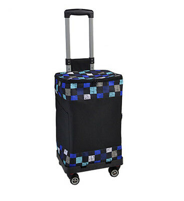 D147 Rugged Aluminium Luggage Trolley Hand Truck Folding Foldable Shopping Cart