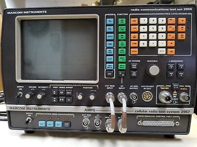Marconi 2955 Service Monitor with Cell Tester