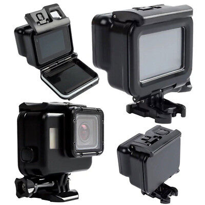 New 60M Waterproof Housing Case Touch Screen Backdoor Cover Fr Gopro Hero 5