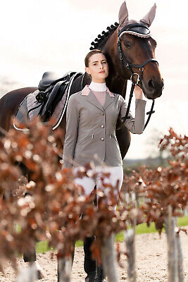 Horseware Ladies COMPETITION SHOW JACKET Lightweight Black/Navy/Pomegrante/Green