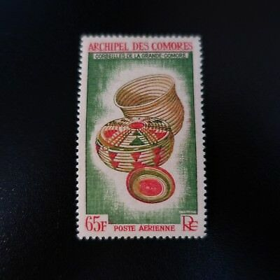 France Colonie Comores Poste Aérienne Pa N°8 Neuf ** Luxe Mnh