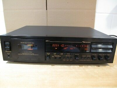 Nakamichi DR-1 Three Head PRO Player / Recorder NEAR MINT just serviced