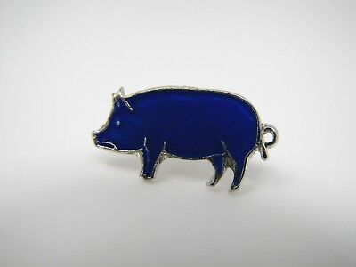 Vintage Collectible Pin: BLUE PIG Beautiful Design