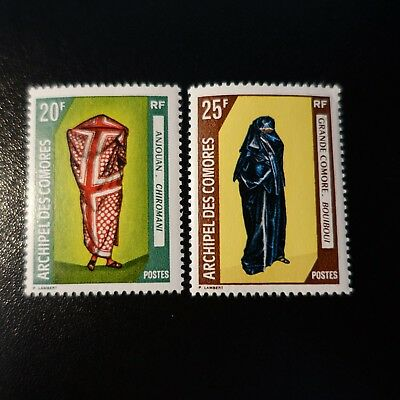 France Colonie Comores N°58/59 Neuf ** Luxe Mnh