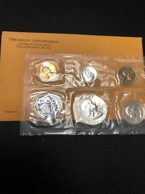 1962 Proof Set (Proof) US, Collection, Collectibles, Coins, Treasury Dept., Mint