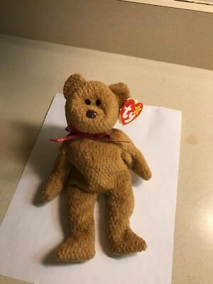 Ty Beanie Babies CURLY The Bear With Many Errors (18) MWMTs Extremely RARE