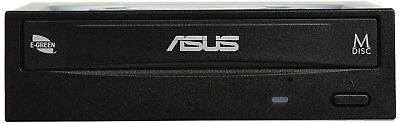 Asus DRW-24D5MT interner 24x DVD Brenner (DVD+-RW, Retail E-Green Silent) black