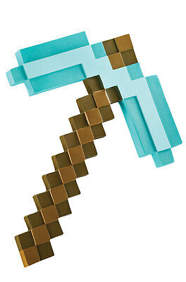 Minecraft Video Game Pickaxe Weapon Costume Accessory
