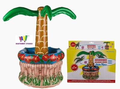 60Cm Inflatable Palm Tree Beer Drink Cooler Beach Pool Party Ice Decoration New
