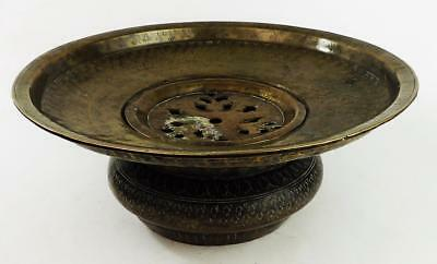 MUGHAL INDIAN ISLAMIC Antique BRASS BASIN 18th Century