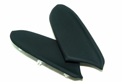 Rear Door Armrest Leather Synthetic Cover for Honda Accord 08-12 Black