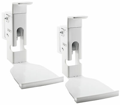 VIVO Two White Adjustable Wall Mounts Designed for Sonos PLAY:5 Speaker (2 Pack)
