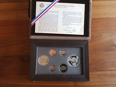 USA 1983 United States Mint Olympic Prestige Set in OVP + Zertifikat US Dollar