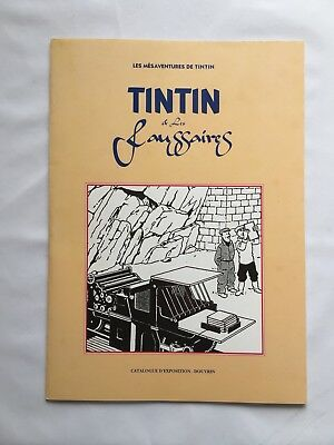 Tintin Et Les Faussaires Catalogue Exposition Douvrin N° / 1993 / Herge / Bd