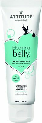 Blooming Belly Natural Bubble Bath, Attitude, 8 oz