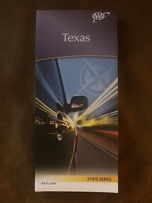 AAA TEXAS Travel Road Map US State Series Roadmap 2017-2019