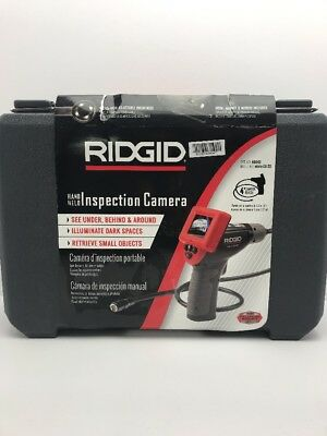 RIDGID 40043 Model micro CA-25 Hand-Held Inspection Camera, Borescope