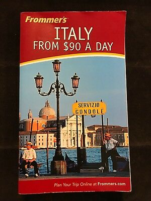 Frommer's ITALY from $90 a Day, travel guide