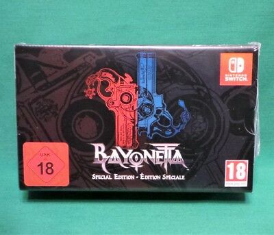 Bayonetta 1 & 2 Special Edition (Nintendo Switch 2018) *Factory Sealed* UK PAL